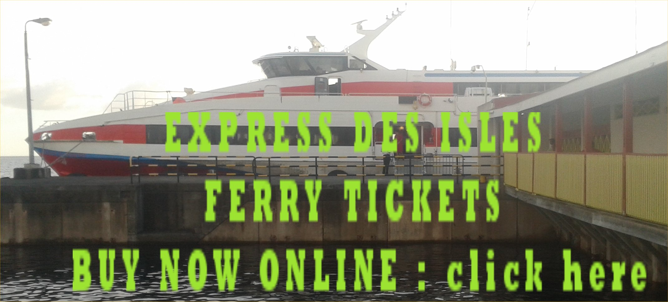 express des iles ferry tickets